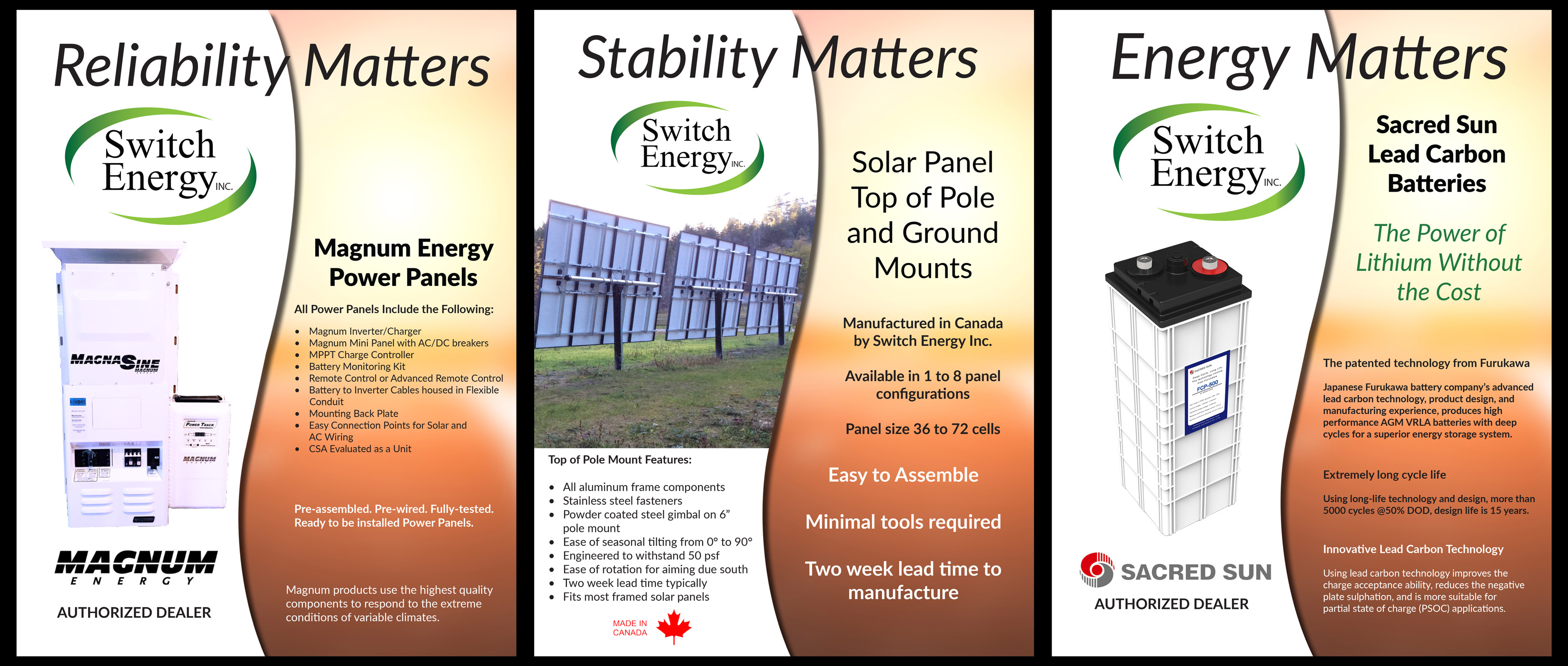 Switch Energy a leader among solar energy companies