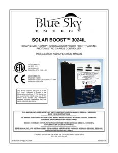 thumbnail of Blue Sky Energy sb3024il