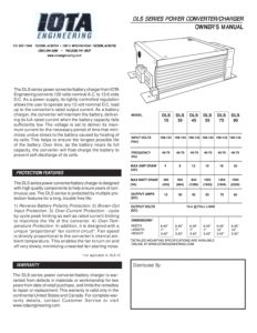thumbnail of DLS Converter Charger Manual