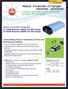 thumbnail of KISAE InverterCharger Data Sheet