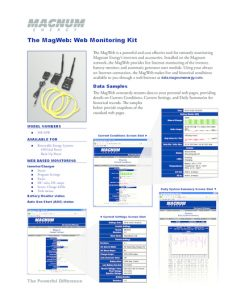 thumbnail of ME-MagWeb Data Sheet