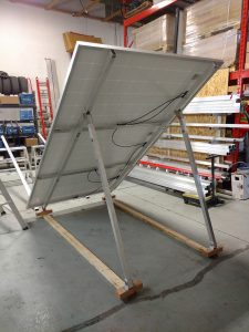 Adjustable Solar Panel Ground mounts