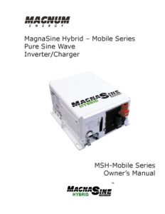Magnum Energy Rev-A-MSH-M-Series Manual