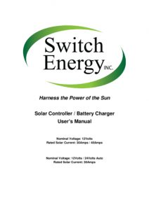 RV Solar Product Manuals