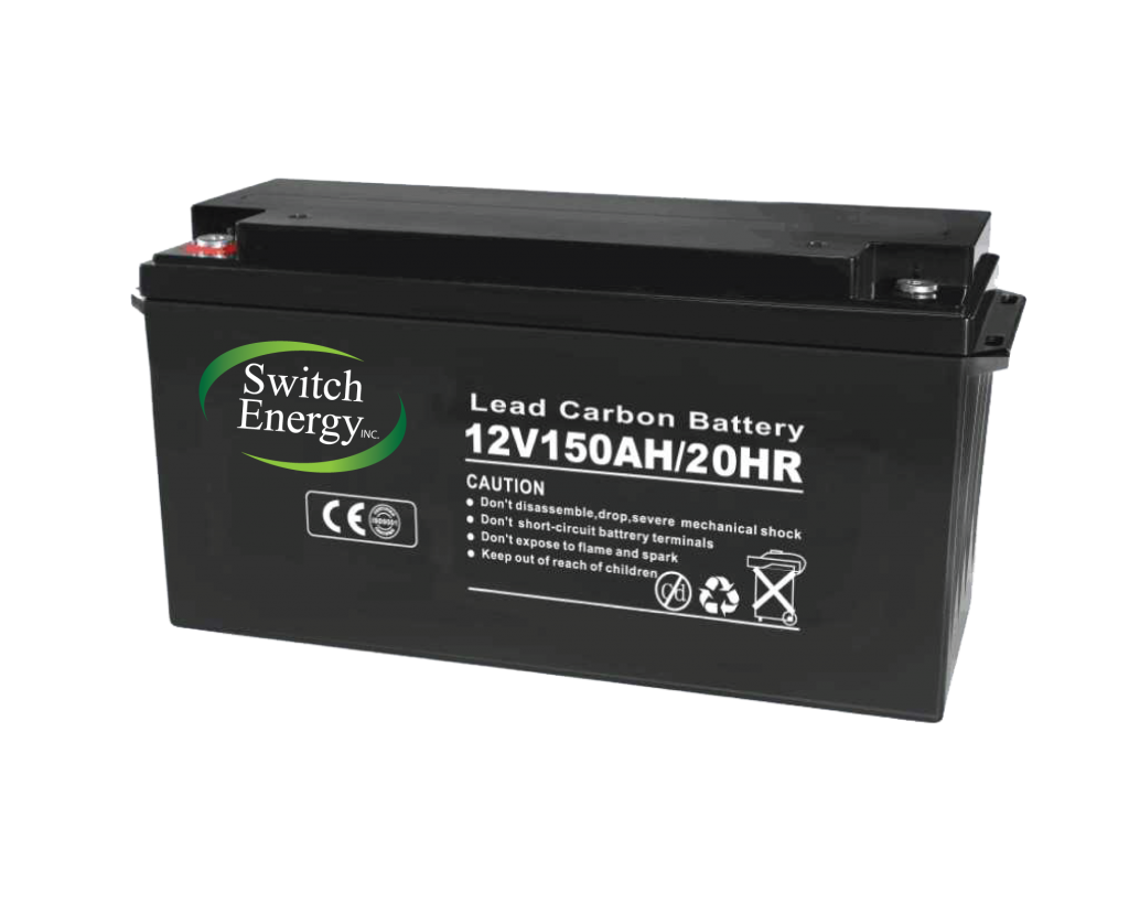 lead carbon 12V battery